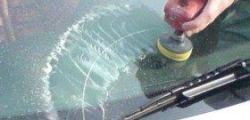 Фото полировки лобового стекла своими руками, avtomobile.cc