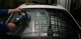 Фото полировки лобовых стекол автомобилей, autotop.org