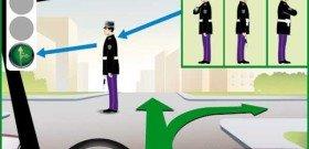 Фото сигнала регулировщика дорожного движения, car-exotic.com