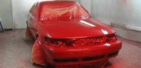 Фото покрашенного автомобиля баллончиком, vsepoedem.com
