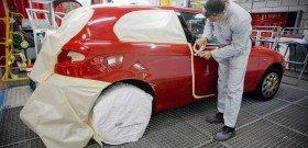Фото подготовки автомобиля к покраске, perfectautony.com
