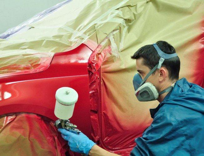 Видео покраска автомобиля своими руками из баллончика
