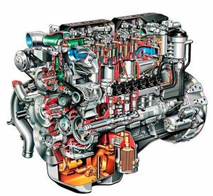 На фото - устройство дизельного двигателя, rusauto.net