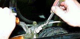 Фото замены тормозных трубок, w202club.com