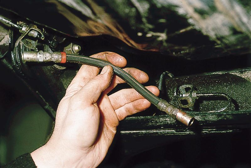 Фото №9 - замена тормозных трубок ВАЗ 2110