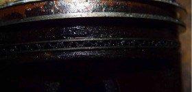 Фото закоксованных поршневых колец, trinituner.com