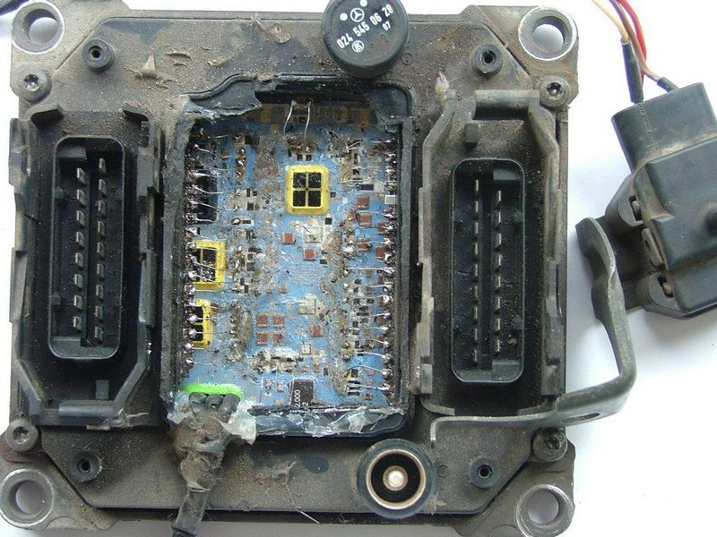 Блок управления двигателем ремонт своими руками 70