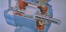 На фото - изображение асинхронного двигателя в сборе, bsu-az.org