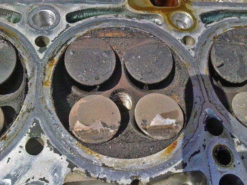 Замена клапанов калина 1.4 16 клапанов своими