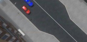На фото - сужение дороги справа, stop-signal.info
