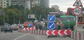 Фото сужения дороги справа, mapscont.mail.ru