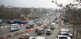 Фото - знак сужение дороги слева, content.foto.mail.ru