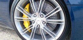 Фото вентилируемых тормозных дисков Aston Martin, nydailynews.com