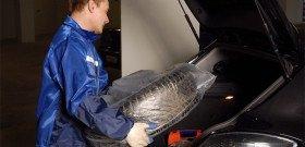 На фото - где хранить зимние шины? carspa.ru