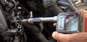 На фото - диагностика потери мощности дизельного двигателя, autoshcool.ru