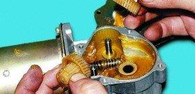 Фото ремонта моторчика стеклоочистителя, v-lada.ru