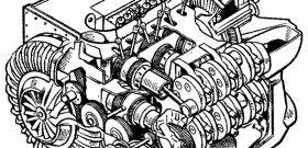 Фото устройства рабочего цикла двухтактного двигателя, icarbio.ru