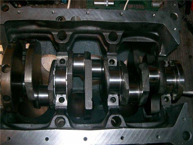 размер шеек коленвала двигателя z24i nissan terrano