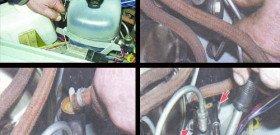 На фото - как поменять рабочий цилиндр сцепления, remont-vaz2106.ru