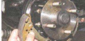 Фото замены колодок стояночного тормоза, pride-u-bike.com