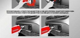 На фото - защита автомобильных номеров от кражи, realxenon.ru