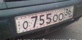 Фото оригинальной защиты ноомера автомобиля от кражи, webdiscover.ru