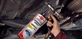 На фото - антикоррозионное покрытие автомобиля, днища, autoremka.ru