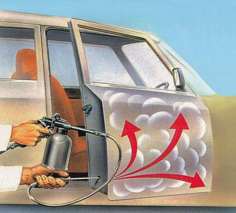 Антикоррозийная обработка автомобиля своими руками фото
