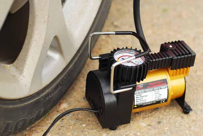 Покупка компрессора для подкачки колёс
