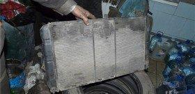 Фото автомобильного медного радиатора, radymo.com