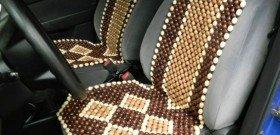 Фото - деревянные массажные накидки для автомобиля, avtowithyou.ru