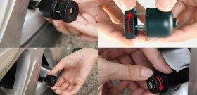 Фото установки датчиков давления в шинах, autoutro.ru