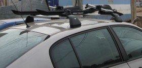 На фото - как установить багажник на крышу, 2aufa.ru