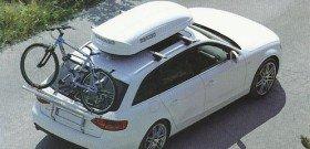 На фото - багажник бокс на крышу, menabo.ru