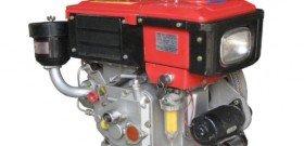 Фото дизельного двигателя с электростартером, oregon.by