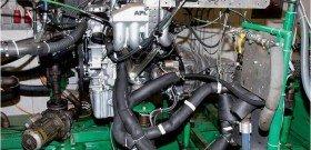На фото - работа двигателя с присадкой для дизельного топлива, autodela.ru