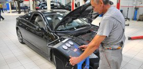 На фото - ремонт и заправка кондиционера автомобиля, Фото автокондиционера, termomir.com
