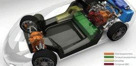 На фото - устройство автомобиле с роторным двигателем, carexpert.ru