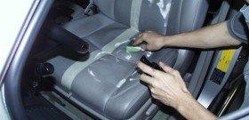 На фото - восстановление кожаных сидений авто, autoshcool.ru
