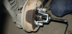 На фото - расчёт съёмника тормозного барабана, photo.qip.ru