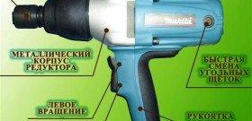 На фото - ударный гайковёрт Макита, eletos.ru