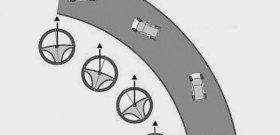 Фото схемы прохождения заднеприводного авто на повроте, uzavto.net