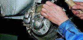 Фото замены подшипника ступицы заднего колеса, blogautolive.ru