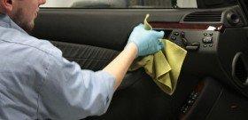 Фото чистки пластика салона автомобиля, 4golf.ru