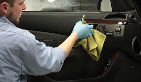 Химчистка автомобиля своими руками фото