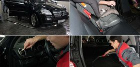 Фото чистки кожаного салона автомобиля, avtomoyka.su