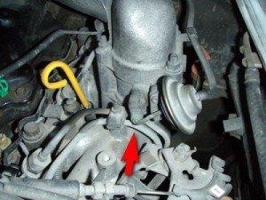 Фото про как при выключении зажигания двигатель детонирует, mikrob.ru