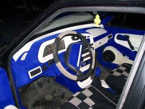 Фото про самостоятельно флокирование салона авто, vk.com