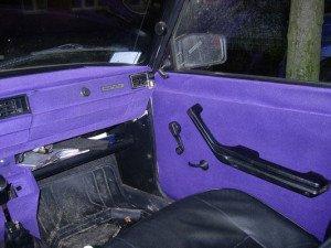 Фото о флокировании салона машины, e1.ru