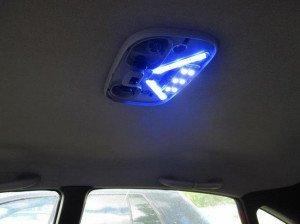 Фото про плавное выключение света в салоне, drive2.ru
